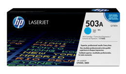 Toner HP Q7581A, nr 503A do LJ 3800, CP3505 - cyan
