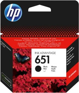Tusz HP C2P10AE nr 651 do HP DeskJet Ink Advantage 5575, 5645, OfficeJet 202, 252 - czarny