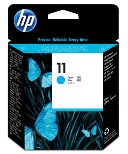 Głowica HP C4811A, nr 11 do Business Inkjet, Color Inkjet, Designjet, Officejet Pro- cyan