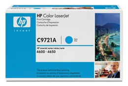 Toner HP C9721A, nr 641A do LJ 4600, 4610, 4650 - cyan