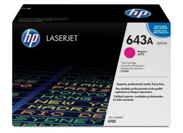 Toner HP Q5953A, nr 643A do LJ 4700 - magenta