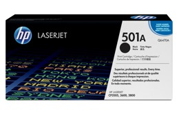 Toner HP Q6470A, nr 501A do LJ 3600, 3800, CP3505 - czarny