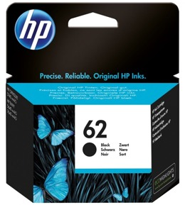 Tusz HP C2P04AE, nr 62 do  Ink Adv 5645; Envy 5540, 5640, 7640; OfficeJet 200, 5740 - czarny
